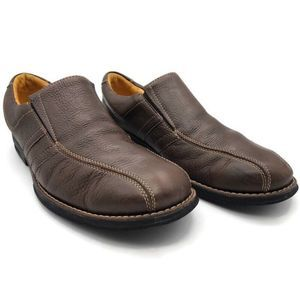 Sandro Moscoloni Mens Loafers Slip Ons Shoes Brown